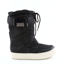 Load image into Gallery viewer, Black Ski Moon Style Winter Boot