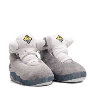 AJ MAG Back To The Future Retro Hi Top Trainer Slippers
