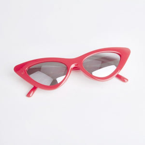 Montana Red Cat Eye Sunglasses