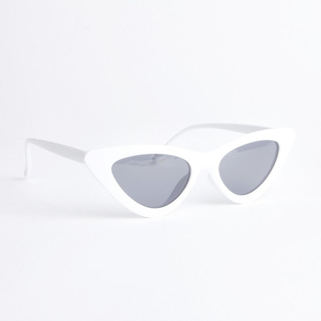 Montana White Cat Eye Sunglasses