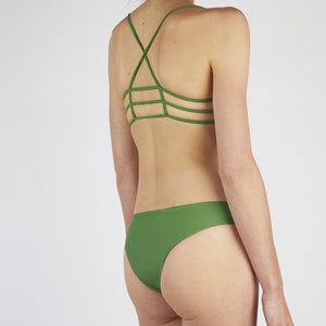 Neva Green Cross Bikini Set