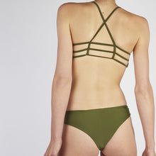 Load image into Gallery viewer, Neva Khaki Cross Bikini Set