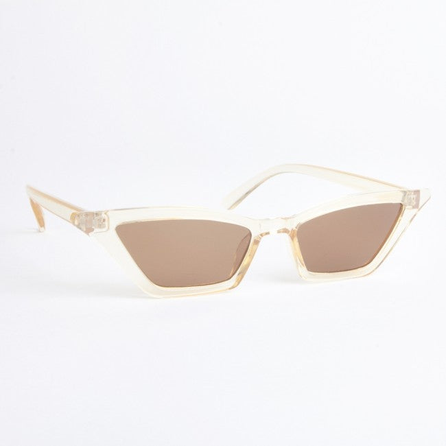 Nevada Tan Cat Eye Sunglasses