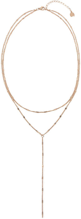 Happiness Boutique Women Necklace in Silver Color Delicate Necklace Minimalist Stainless Steel Jewelry