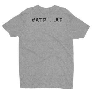 #ATP...AF Men's T-shirt with Full Color Logo