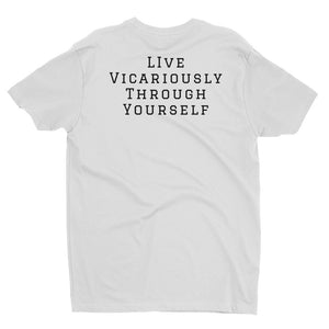 "ATP ""Live Vicariously"" Men's T-shirt with Full Color Logo"