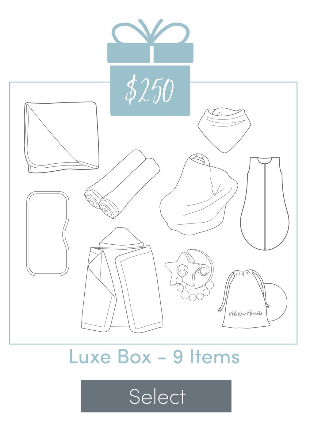 $250 Luxe Box - 9 Items
