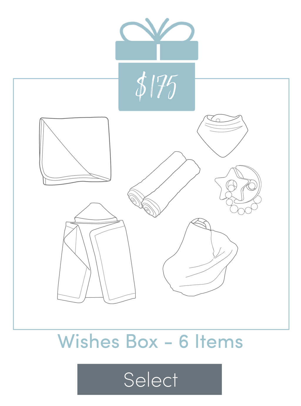 $175 Wishes Box - 6 Items