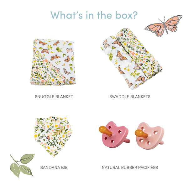Butterfly Garden Baby Box - Favorites