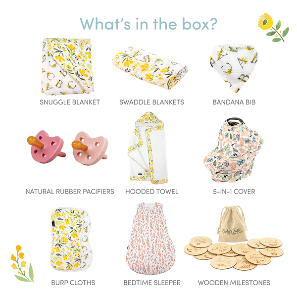 Citrus Blooms Baby Box - Luxe