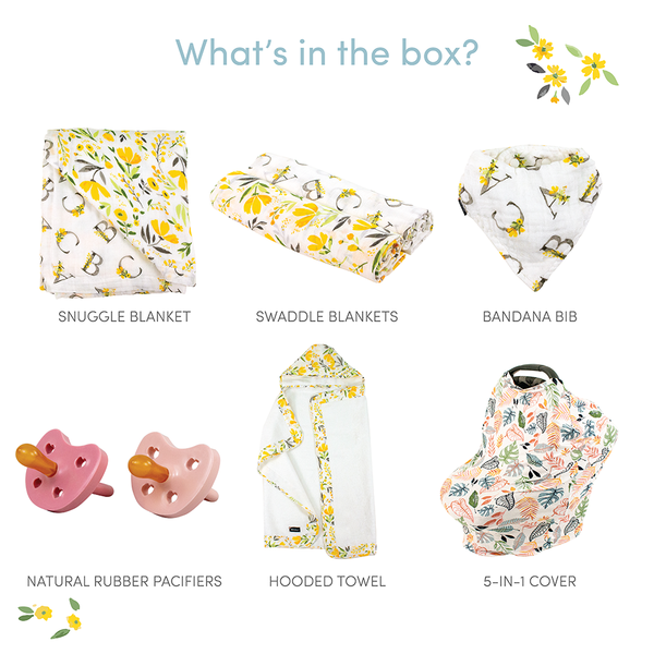 Citrus Blooms Baby Box - Wishes