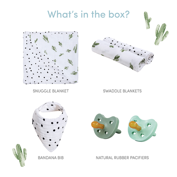 Cuddly Cactus Baby Box - Favorites