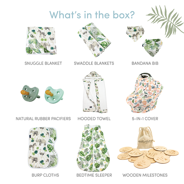 Jungle Rumble Baby Box - Luxe