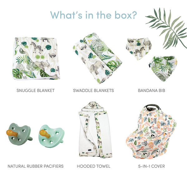 Jungle Rumble Baby Box - Wishes