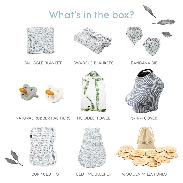Just Be Leaf Baby Box - Luxe