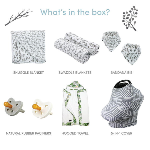 Just Be Leaf Baby Box - Wishes