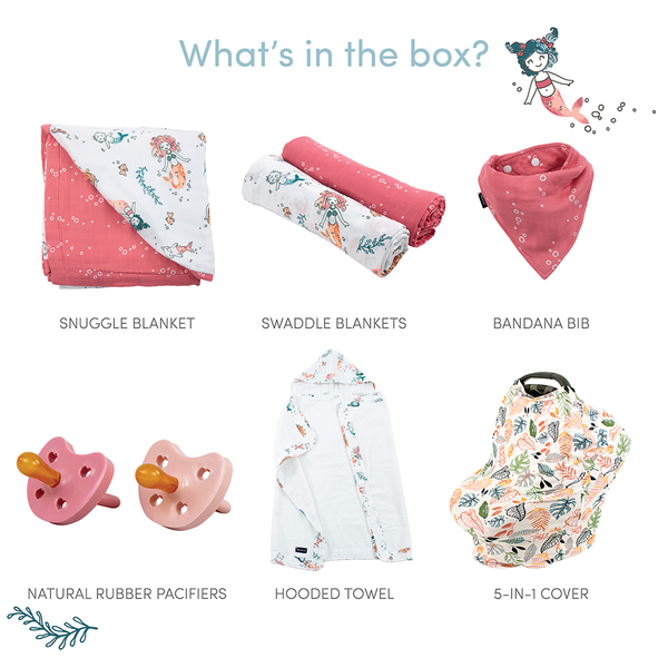 Magical Mermaids Baby Box - Wishes