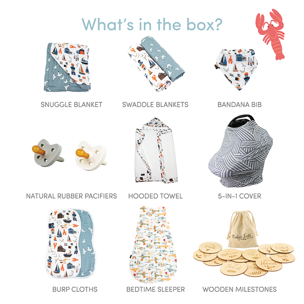 Nautically Nice Baby Box - Luxe