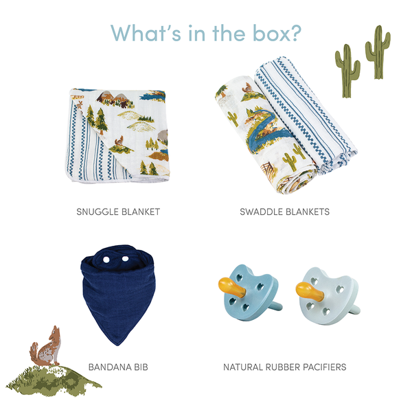 Roaming Wyoming Baby Box - Favorites