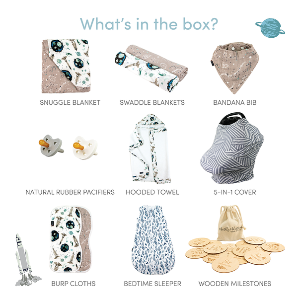 Space Ranger Baby Box - Luxe