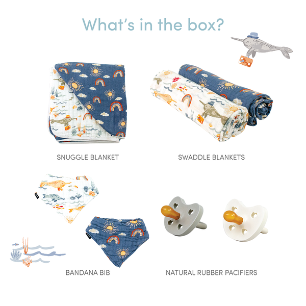 Sunny Narwhal Baby Box - Favorites