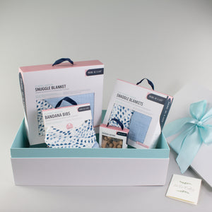 Sweet Sky Blue Baby Box - Favorites