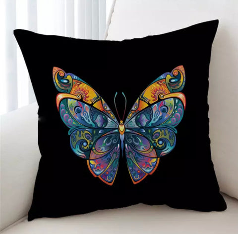 Artistic Butterfly Cushion Cover