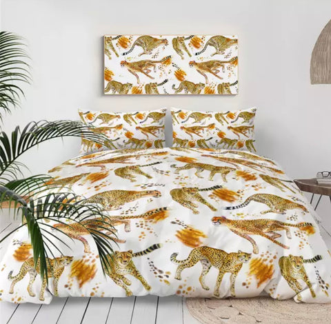 Cheetahs Bedding Set