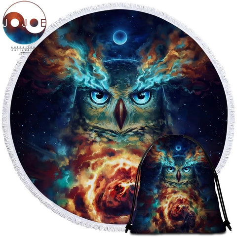 Eternal Bond By JoJoesArt Round Towel
