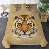 Tiger Face Bedding Set