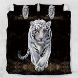 White Tiger Bedding Set