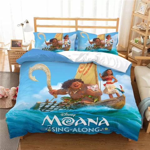 Moana Sing-a-long Bedding Set