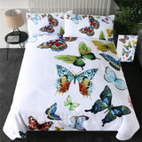 Butterflies Bedding Set