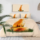 Fox & Butterfly Bedding Set
