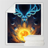Celestial By JoJoesArt Throw Rug