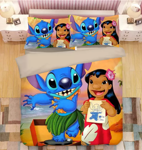 Happy Stitch's Goodness Level Bedding Set