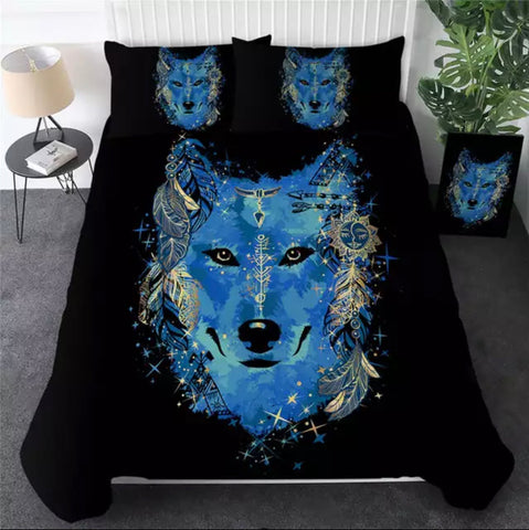 Mystic Wolf Bedding Set