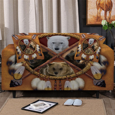 Bears Dreamcatcher Sofa Cover