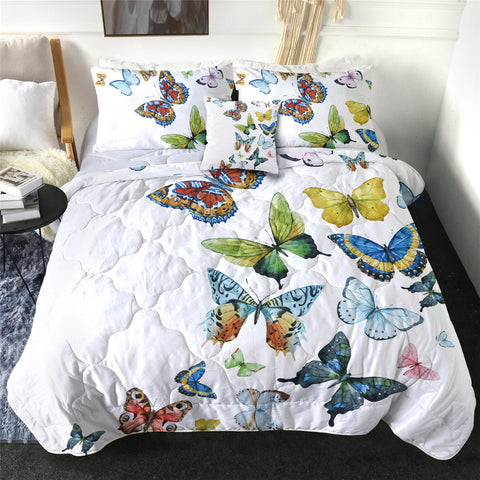 Butterflies Comforter Set