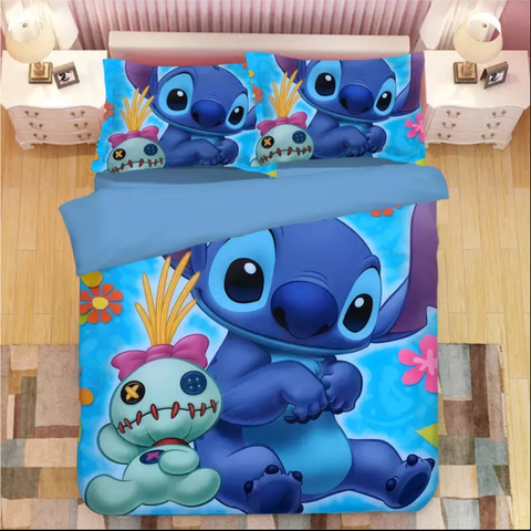 Stitch with Scrump Bedding Set