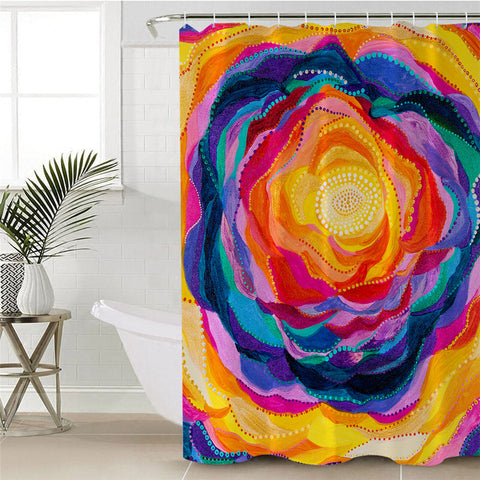 Bloom By Amy Diener Shower Curtain