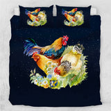 Chickens & Rooster Bedding Set