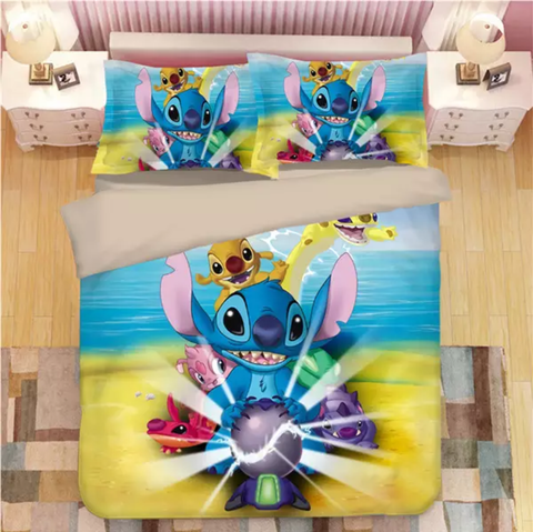 Stitches Experimental Friends Bedding Set