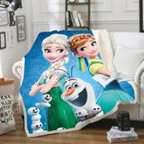 Frozen's Traditions Throw Rug