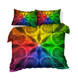 kaleidoscope Mandala Bedding Set