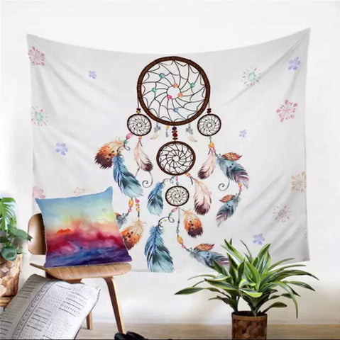 Five Tier Dreamcatcher Wall Tapestry