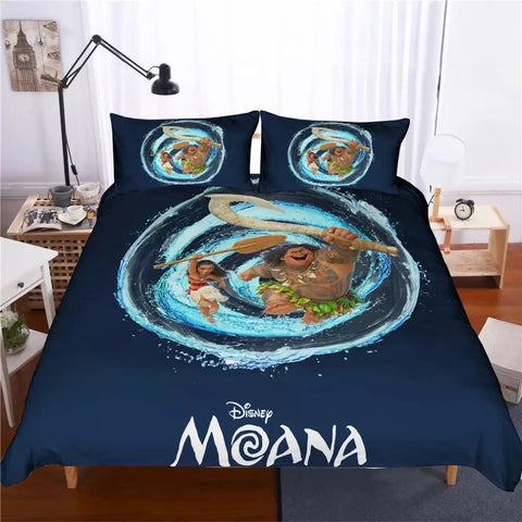 Moana Swirl Bedding Set