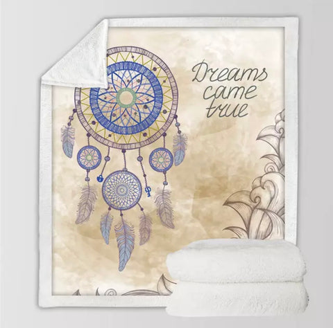 Dreams Come True Dreamcatcher Throw Rug