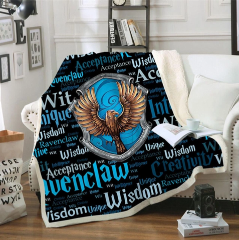 Ravenclaw Traits Throw Rug