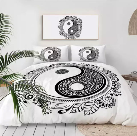 Paisley Yin & Yang Bedding Set